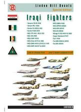 Iraqi Fighters over 25 options Linden Hill 1/48 decal LHD48019