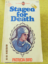 VINTAGE AIRMONT ROMANCE NOVEL  - STAGED FOR DEATH  - PATRICIA BIRD