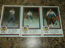 1984-85 VICTORIA COUGARS BILL GREGOIRE WHL PLAYER CARD