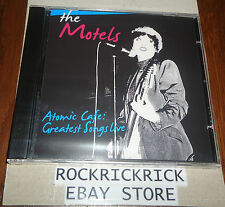 THE MOTELS - ATOMIC CAFE! GREATEST SONGS LIVE IN BOSTON 1979 & 1980 (BRAND NEW)