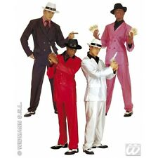 Carnevale 2016  - costume vestito GANGSTER uomo L