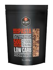 DR ZAKS HIGH PROTEIN PASTA 400G - LOW CARBS - HIGH IN PROTEIN