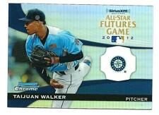 2012 BOWMAN CHROME TAIJUAN WALKER ALL-STAR FUTURES GAME INSERT RC