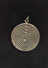Church of All Worlds silver Medallion