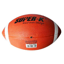 SUPER-K New American Football Rubber Official Size 9 Sport Game Ball Free Ship