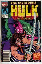 Marvel Comics Incredible Hulk #380 April 1991 VF+