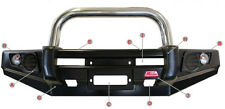MCC SINGLE LOOP STAINLESS STEEL BULLBAR 707-01SP MITSUBISHI PAJERO NM-NP 00-06