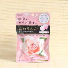 Japanese Kracie ROSE FUWARINKA Soft Chewy Candy Japan Collagen Vitamin C Fresh