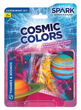 Cosmic Colors Thames & Kosmos Spark Science Experiment Kit Stained Glass Planets