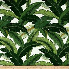 "TOMMY BAHAMA Island Hopping Emerald Green Outdoor Fabric, 54"" Fabric by the yard"
