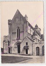 CPSM 36220 FONTGOMBAULT Eglise façade entrée du Monastere Edt GAUD