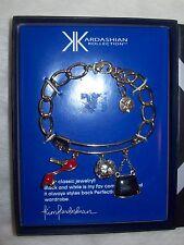 KIM KARDASHIAN COLLECTION CHARM BRACELET~NEW IN A BOX