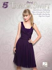 Five Finger Piano Best Of Taylor Swift MEAN STARLIGHT EASY Beginner Music Book