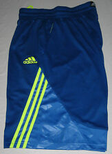 ADIDAS CRAZY SHADOW 3S BASKETBALL SHORTS - Men's 2XL / XXL (blue) NWT