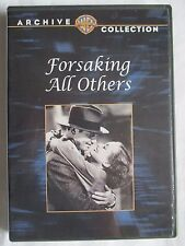 FORSAKING ALL OTHERS -JOAN CRAWFORD -CLARK GABLE - WARNER ARCHIVE COLLECTION DVD