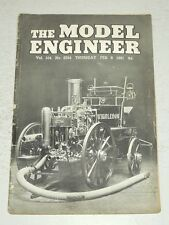 MODEL ENGINEER #2594 VOL 104, FEBRUARY 8TH 1951 (B)