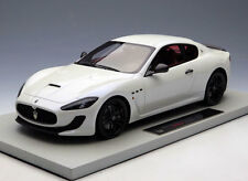 NEW 1/18 BBR Maserati GT GranTurismo MC 100Anni Car Model white Italian Calipers