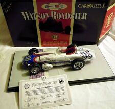 Carousel 4403: Watson Roadster 1962, #98 P. Jones, Modell in 1/18, NEU & OVP