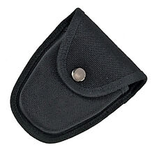 Handcuff Pouch High Quality Black Nylon Molded Case Holder Snap Close, Belt Loop