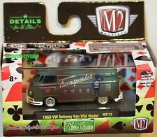 M2 MACHINES WILD CARDS 1960 VW DELIVERY VAN USA MODEL