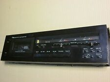 Nakamichi 480 Black Cassette Deck 120-240 volt switchable