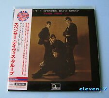 SPENCER DAVIS GROUP Their First LP JAPAN mini lp cd UICY-93173 Winwood new