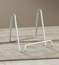"3"" PLATE STAND Small SILVER Square Wire Display Easel Tripar 50213"