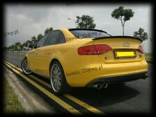 Audi A4 B8 8K Rear Window Spoiler ~PRIMED & PREPARED~