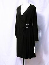 EVAN PICONE Venetian Ball Little Black Evening Cocktail Dress Women's size 6 NWT