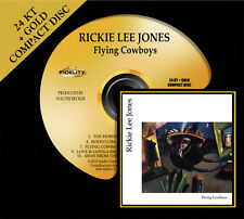 RICKIE LEE JONES Flying Cowboys 24KT GOLD CD Audio Fidelity (2010) NEW