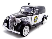 1935 FORD SEDAN DELIVERY KENTUCKY POLICE CAR 1:24  MODEL UNIQUE REPLICAS 18518
