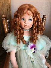 LARGE DONNA RUBERT PORCELAIN ARTIST DOLL-500/750-APPROX. 39 In. TALL
