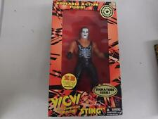 "1998 Wcw limited edition STING 12"" poseable action figure signature series B139"