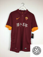 Roma TOTTI #10 *Chinese New Year* BNWT 14/15 Home Football Shirt (L) Jersey