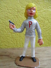 FIGURINE 75mm COMANSI THUNDERBIRDS LADY PENELOPE AG BLANC  REAMSA GERRY ANDERSON
