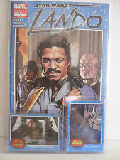 SDCC 2015 MARVEL CUSTOM EDITION LANDO COMIC TOPPS PROMO CARDS INCLUDED