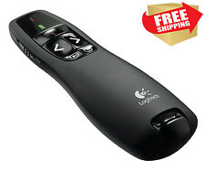 Logitech Presentation Remote Wireless Control Powerpoint Lecture Clicker RED