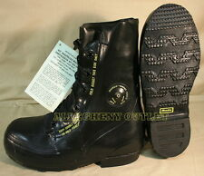 NEW 8 W BATA MICKEY MOUSE BOOTS Extreme Cold Weather -20° Black Military 8W