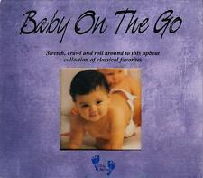 BABY ON THE GO (CD 2003) *NEW* Active Upbeat Adventurous Classical Melodies