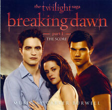 Carter Burwell - Twilight 4 - The score - CD 24 titres OST Breaking dawn part 1