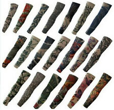 Sport Climbing Slip On Fake Temporary Tattoo Arm Long Sleeves Hand Colletion 6pc