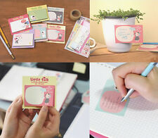 r, Cute Girl Sticker Post  Bookmark Memo Index Notepads Marker Sticky Notes 1PC