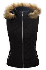 Damen Weste Stepp Jacke Steppweste Damenjacke Outdoor leicht gesteppt S-XL D52