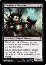 BLOODHUSK RITUALIST Worldwake MTG Black Creature — Vampire Shaman Unc