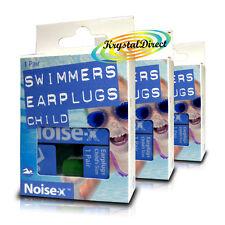 Ruido 3x-x Natación Tapones de oídos para natación Tapones Para Los Oídos Nadadores Niños Niño Niños