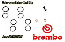 Brembo P4 34mm Radial front brake single caliper seal repair kit