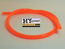 "HYspeed PVC Fuel Gas Line 5/16"" ID X 7/16"" OD 3' Fluorescent Orange Motorcycle"