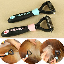PET SPAZZOLA PETTINE CANE GATTO  Dog SPAZZOLA Stripping PETTINE Pelo Trimmer