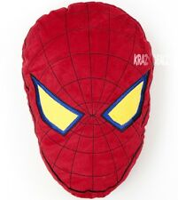 Official Spiderman Movie Head Shaped Cushion Plush Toy New Gift Ultimate Marvel