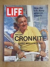 LIFE magazine March 26mar 1971 WALTER CRONKITE-Andrew J Young Tribute-ARMY SPIES